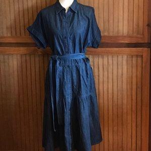 Ralph Lauren Size 12 Denim dress
